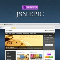 joomlashine Joomla Template: JSN Epic - Responsive Joomla Business Template