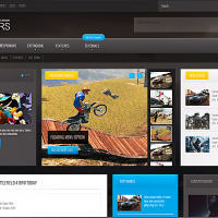 Joomla Free Template - Gamers