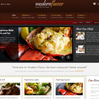Wordpress Free Theme - Modern Flavor - June 2013 Wordpress Club Theme