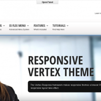 Wordpress Free Theme - Corporate Response