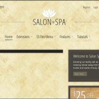 shape5 Wordpress Theme: Salon n Spa