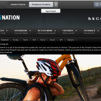 shape5 Wordpress Theme: Sports Nation