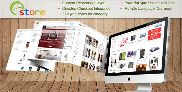 Magento Template: Ebay Store Theme