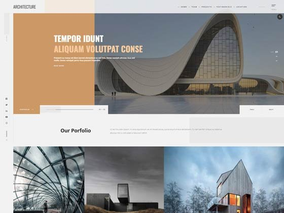 Joomla Template: Ol Architecture
