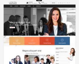 olwebdesign Joomla Template: Ol Leron