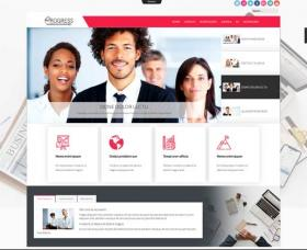 Joomla Free Template - Ol progress