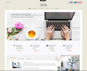 Joomla Free Template - Ol Digital