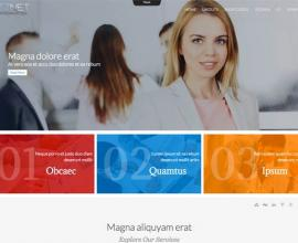 olwebdesign Joomla Template: Ol Bizznet
