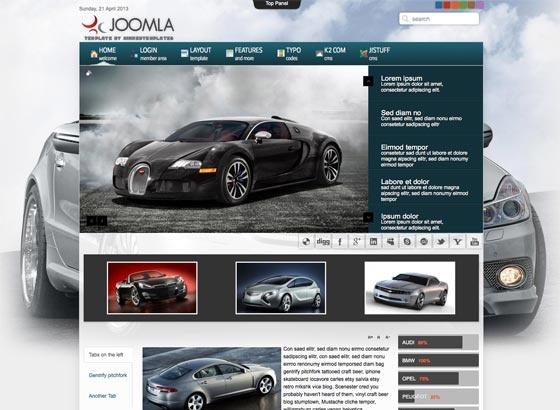 Joomla Template: Mx_joomla91