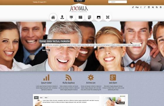 Joomla Template: Mx_joomla97