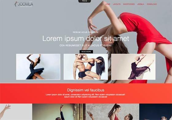 Joomla Template: Mx_joomla173
