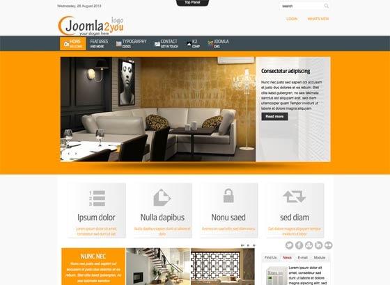 Joomla Template: Ju_joomla54