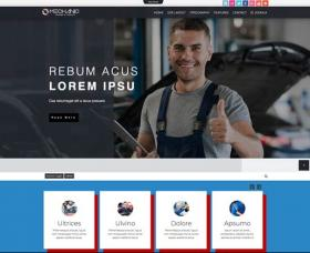 Joomla Templates: Td Mechanic