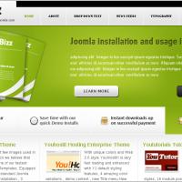 YouJoomla Wordpress Theme: YouBizz