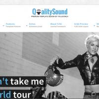 YouJoomla Joomla Template: Qualitysound
