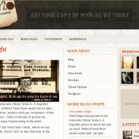 YouJoomla Wordpress Theme: MyBlog V2