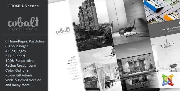 Joomla Template: Cobalt - Multipurpose Joomla Theme