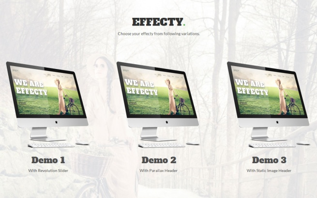 Joomla Template: Effecty:: Responsive Single Page Joomla Theme