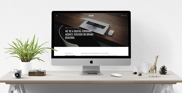Joomla Template: Belton – Minimal Black and White Multipurpose Joomla Theme