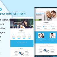 Wordpress template Nivo - Responsive Multi-Purpose Business WordPress Theme