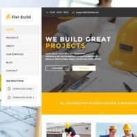 joomlastars Joomla Template: Flatbuild - Construction Business Joomla Template