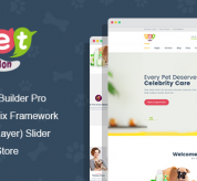 Joomla Premium Template - Pet Salon - Pet Grooming Joomla Theme With Page Builder