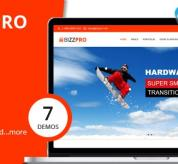 Drupal Themes: Bizzpro - Multipages Drupal 8 Multipages Theme