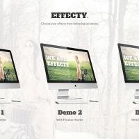 joomlastars Joomla Template: Effecty:: Responsive Single Page Joomla Theme