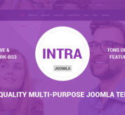 Joomla Premium Template - Intra - Multi-Page + One Page Multi-Purpose Joomla Theme