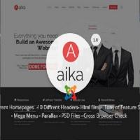 joomlastars Joomla Template: Aaika - Responsive Multipurpose Joomla Template