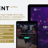 joomlastars Joomla Template: Mievent - Multipurpose Joomla Theme