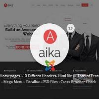 joomlastars Joomla Template: Aaika - Responsive Multipurpose