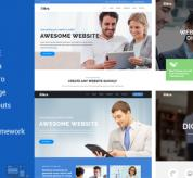 Joomla Premium Template - Aikra - Responsive MultiPurpose Joomla Template With Page Builder