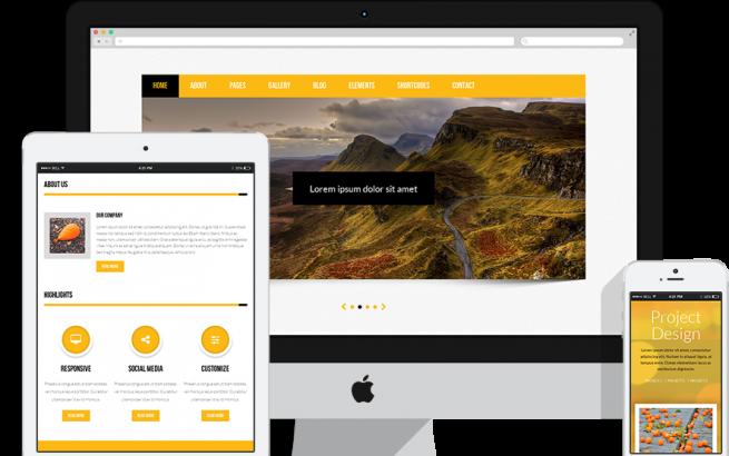Joomla Template: RSJuno! 2.0 Responsive Template for Joomla! 3.x