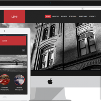 Joomla Premium Template - RSLens! Responsive Template for Joomla! 2.5 and 3.x