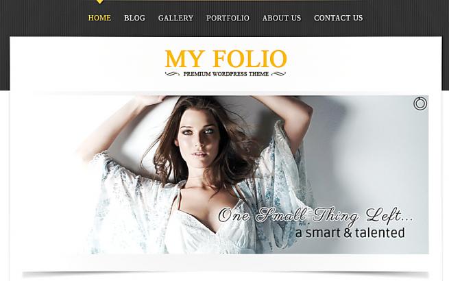 Wordpress Theme: My Portfolio
