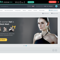 OpenCart Themes: Shopping