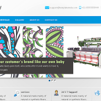 Templatemela Wordpress Theme: Machinery