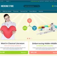 Templatemela Magento Template: Medicine Magento Theme