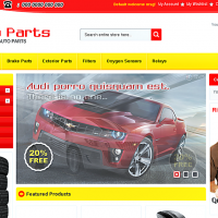Templatemela Magento Template: Auto Parts