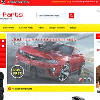 Templatemela Magento Template: Auto Parts