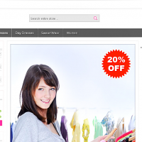 Templatemela Prestashop Template: Cloth Store Prestashop Theme