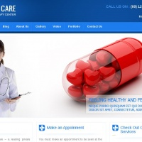 Templatemela Wordpress Theme: Health Care