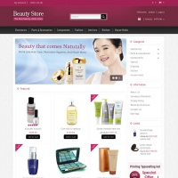 Templatemela Opencart Template: Beauty Store