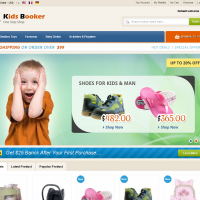 Templatemela Magento Template: Kids Booker Magento Theme
