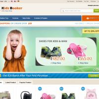 Templatemela Magento Template: Kids Booker Magento Theme
