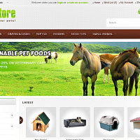 Opencart Free Template - Pets Store