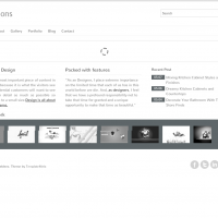 Templatemela Wordpress Theme: Solution Wordpress Template