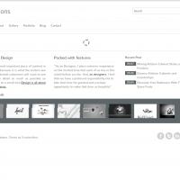 Templatemela Wordpress Theme: Solution Wordpress Template