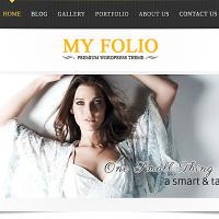 Templatemela Wordpress Theme: My Portfolio
